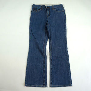 Style & Co Mid Rise Boot Cut Size 8P Jeans